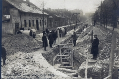 Kanalizacja Królewska Huta 1925 r. - ul. Krzyżowa