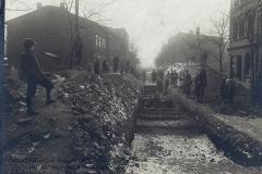 Kanalizacja Krolewska Huta 1925 r. - ul. Pudlerska cz.2